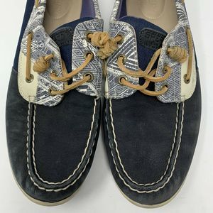 Sperry Top Sider Navy Blue Ladies Size 11
